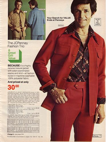 The Golden Era of Polyester is Upon Us! | 1970s fashion men