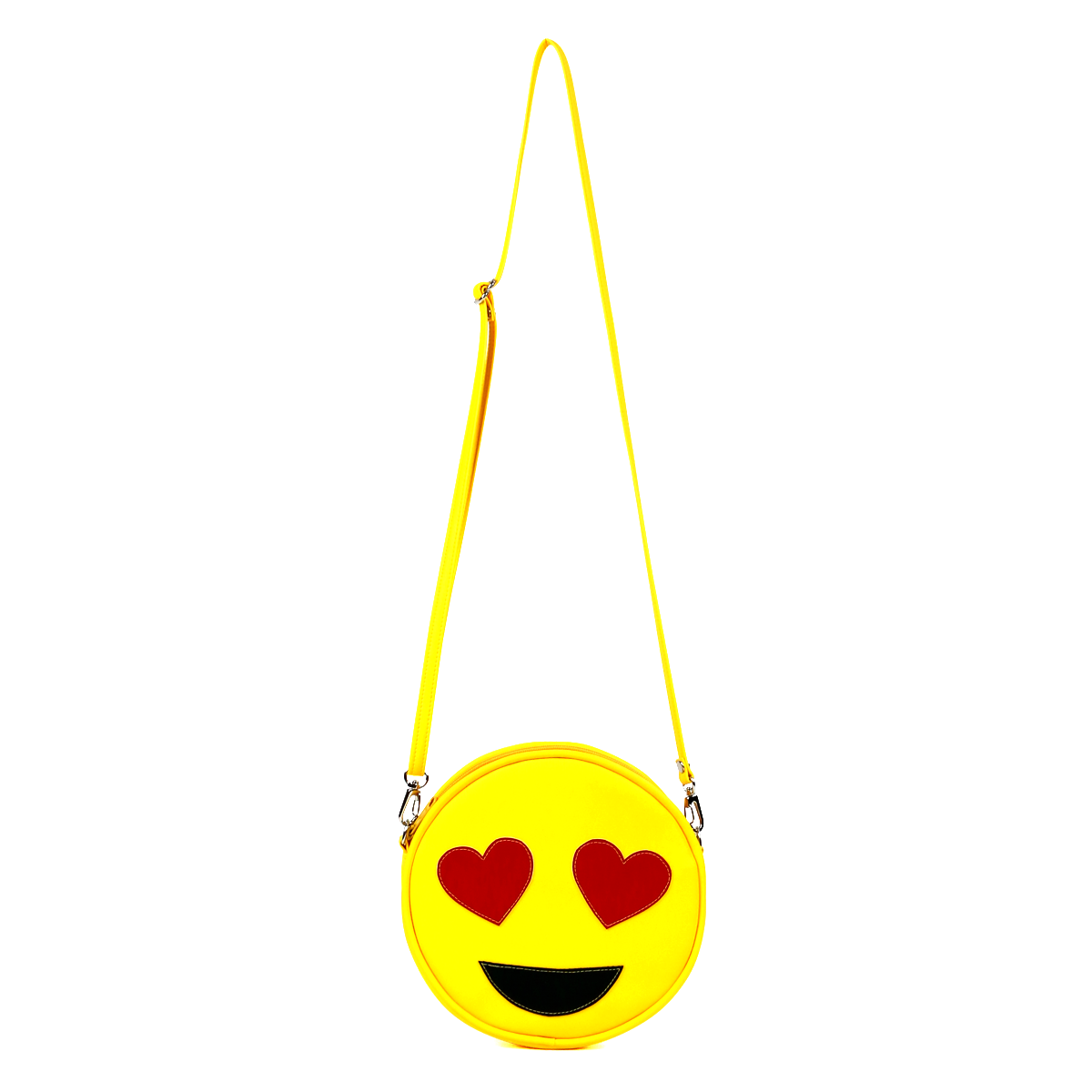 Emoji Heart-Eyes Vegan Crossbody/Clutch Bag – Crossbody and wristlet