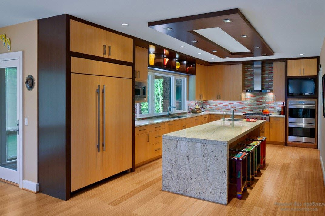 Incredible 9 Kitchen With Drop Ceiling On Kitchen With Integrated Lighting  Simple Suspended Ceiling With