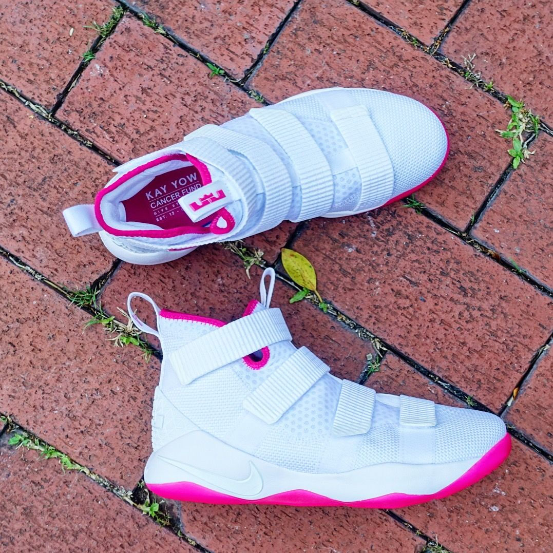 """0beceded92bc """"Kay Yow Cancer Fund"""" for Lebron Soldier XI has been available at  id4shoes😄 897645-102 •••  nike  nikebasketball  lebronsoldier11   lebronsoldierxi  kayyow ..."""
