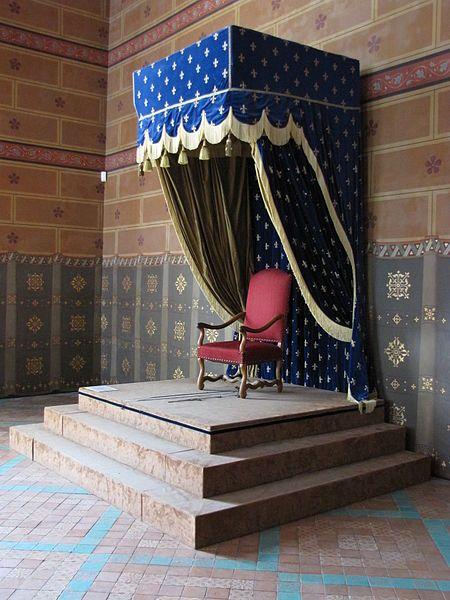 Chateau De Blois Aile Francois 1er Salle Des Etats Le Trone