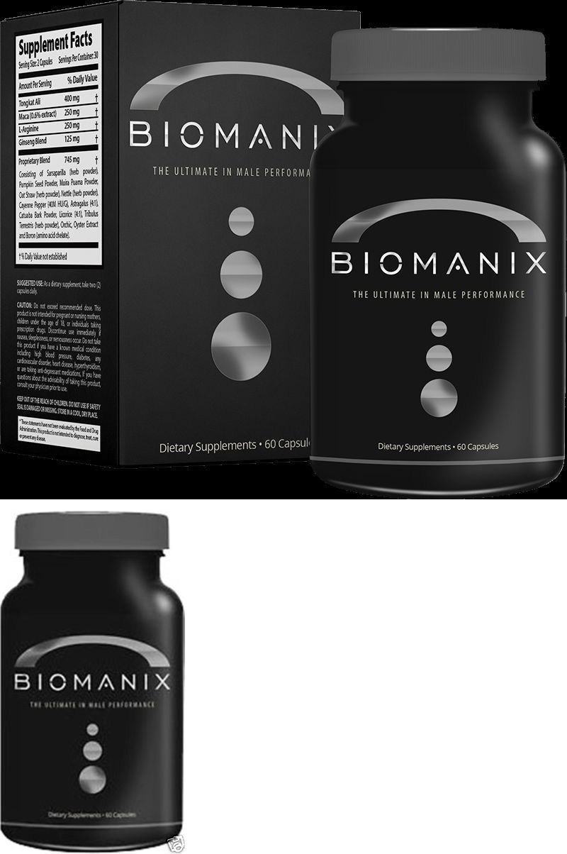 sexual remedies and supplements biomanix ultimate male