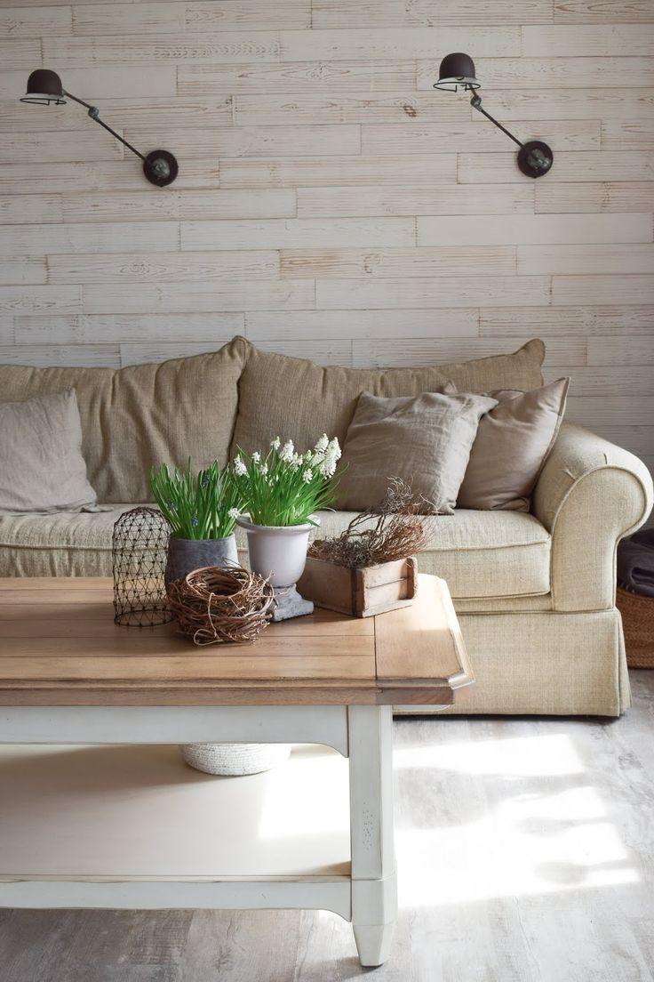 Deko Perlhyazinthen Tischdeko Dekoidee Wohnzimmer Interior
