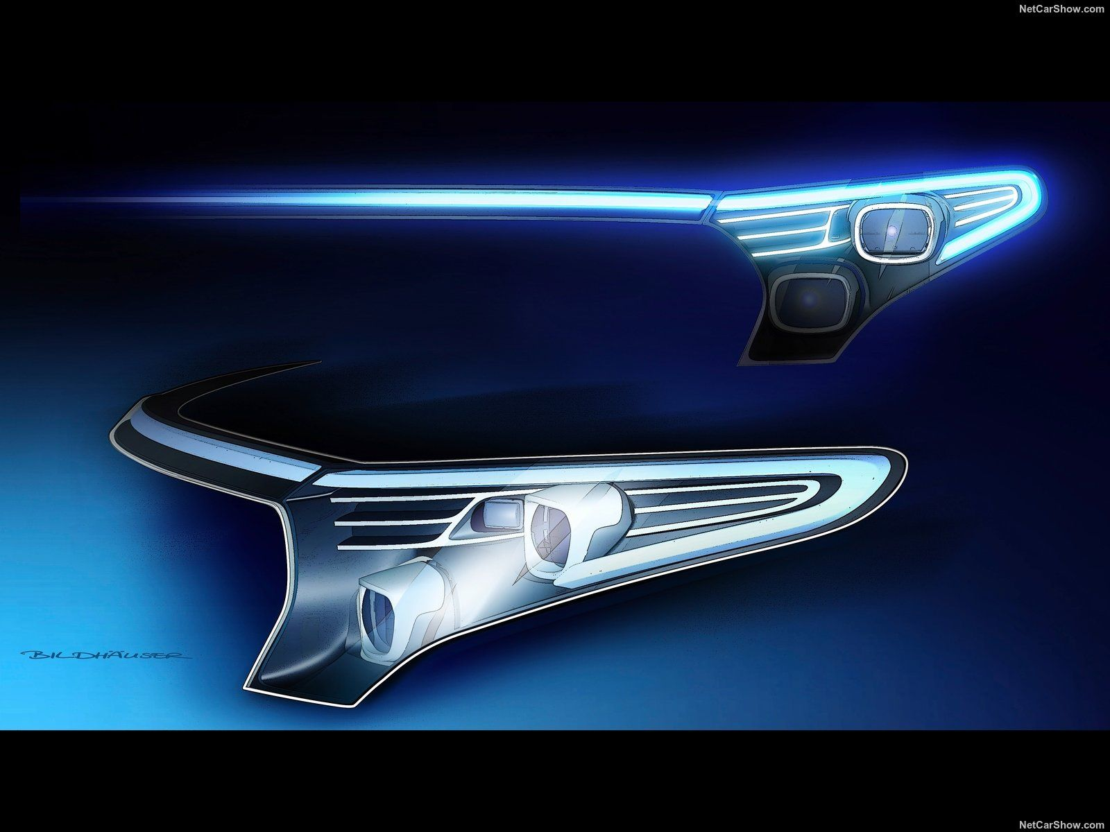 2020 Mercedes Benz Eqc Headlight Design Detail Car Lamp Design