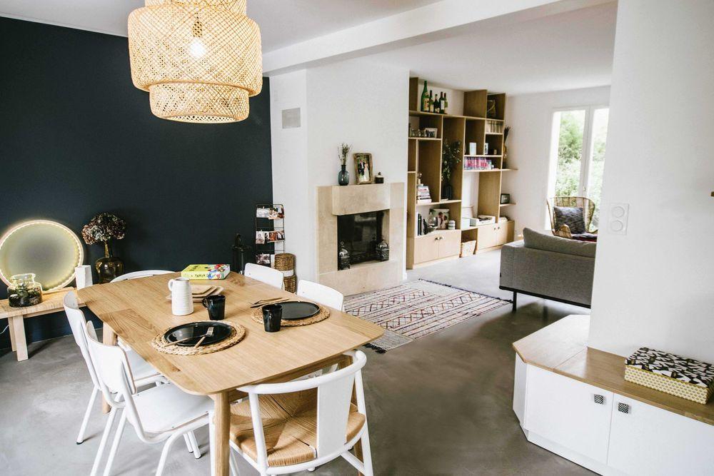 Maison Saint Cloud  rénovation pièce à vivre