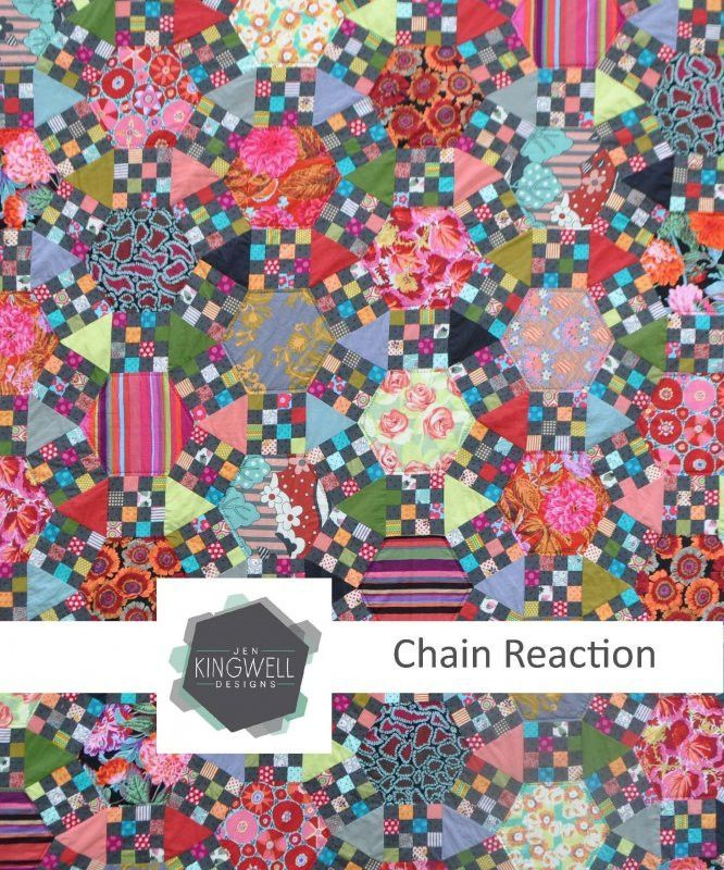 Chain Reaction Quilts, Quilt patterns, Abstract quilt