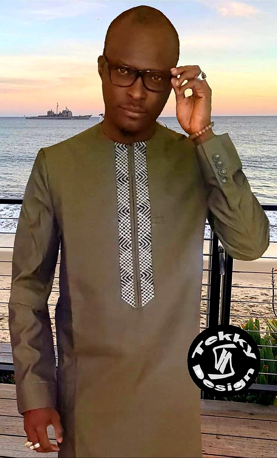 Pin By Merry Loum On Men S Fashion African Shirts For Men African Clothing For Men African Dresses Men