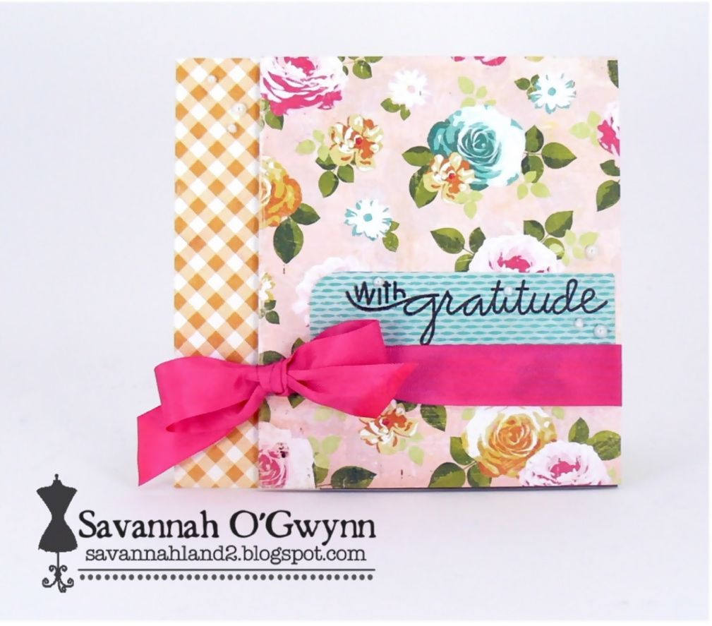 Ribbon Carousel Blog - would look cute with Vintage Marketplace paper from Bazzill Basics designed by Margie Romney-Aslett