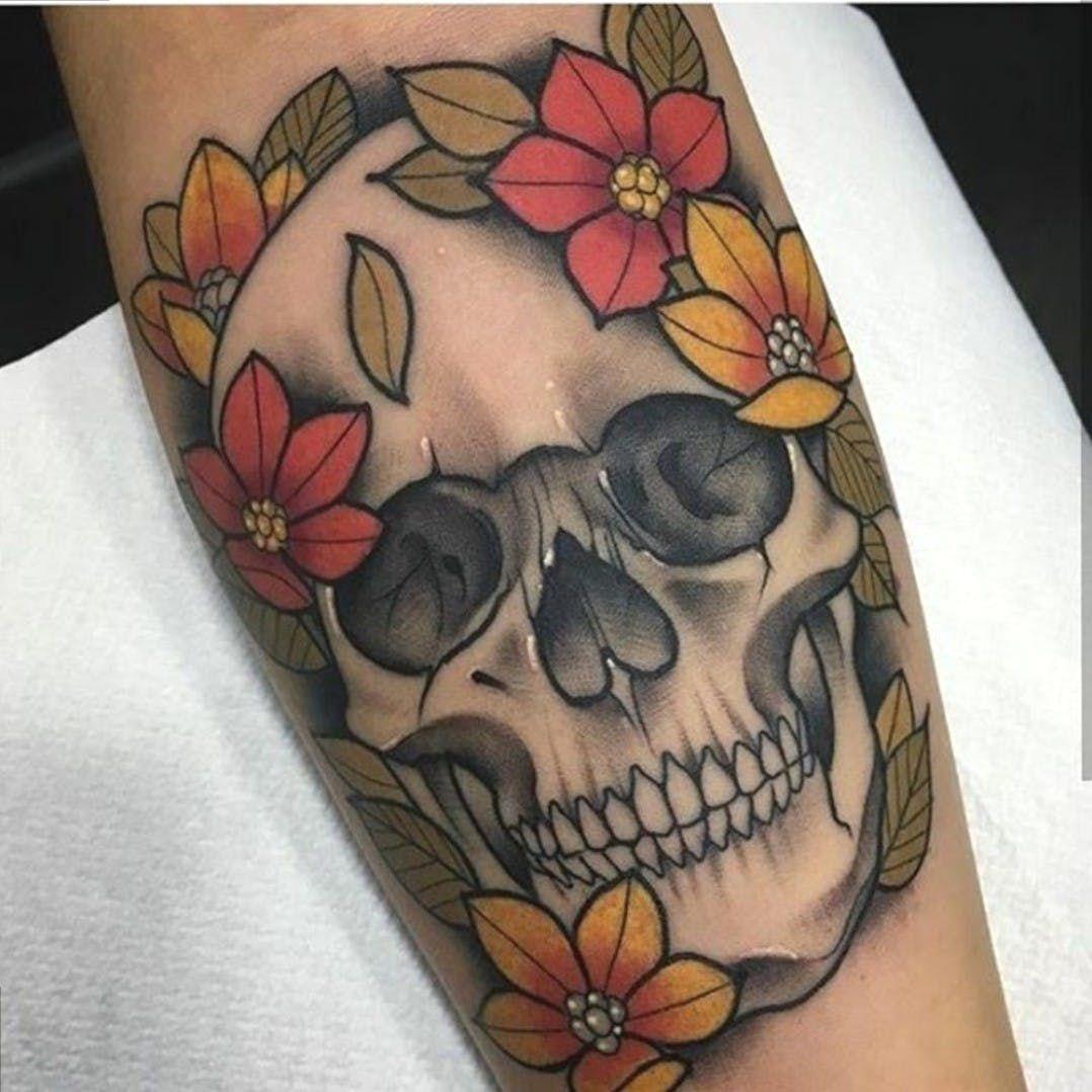 Calavera Tattoo Flash neotraditionaltattoos #neotraditionaltattoo #neotraditional