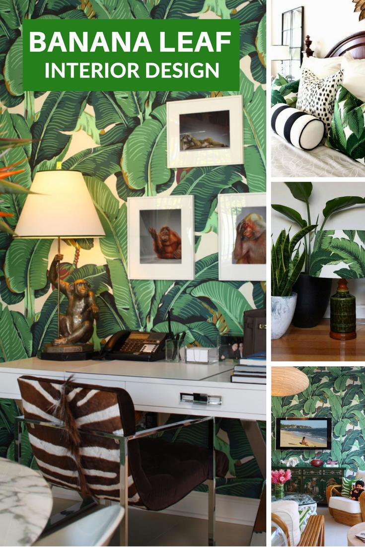 Banana Leaf Interior Decorating Decor Coastal Lifestyle