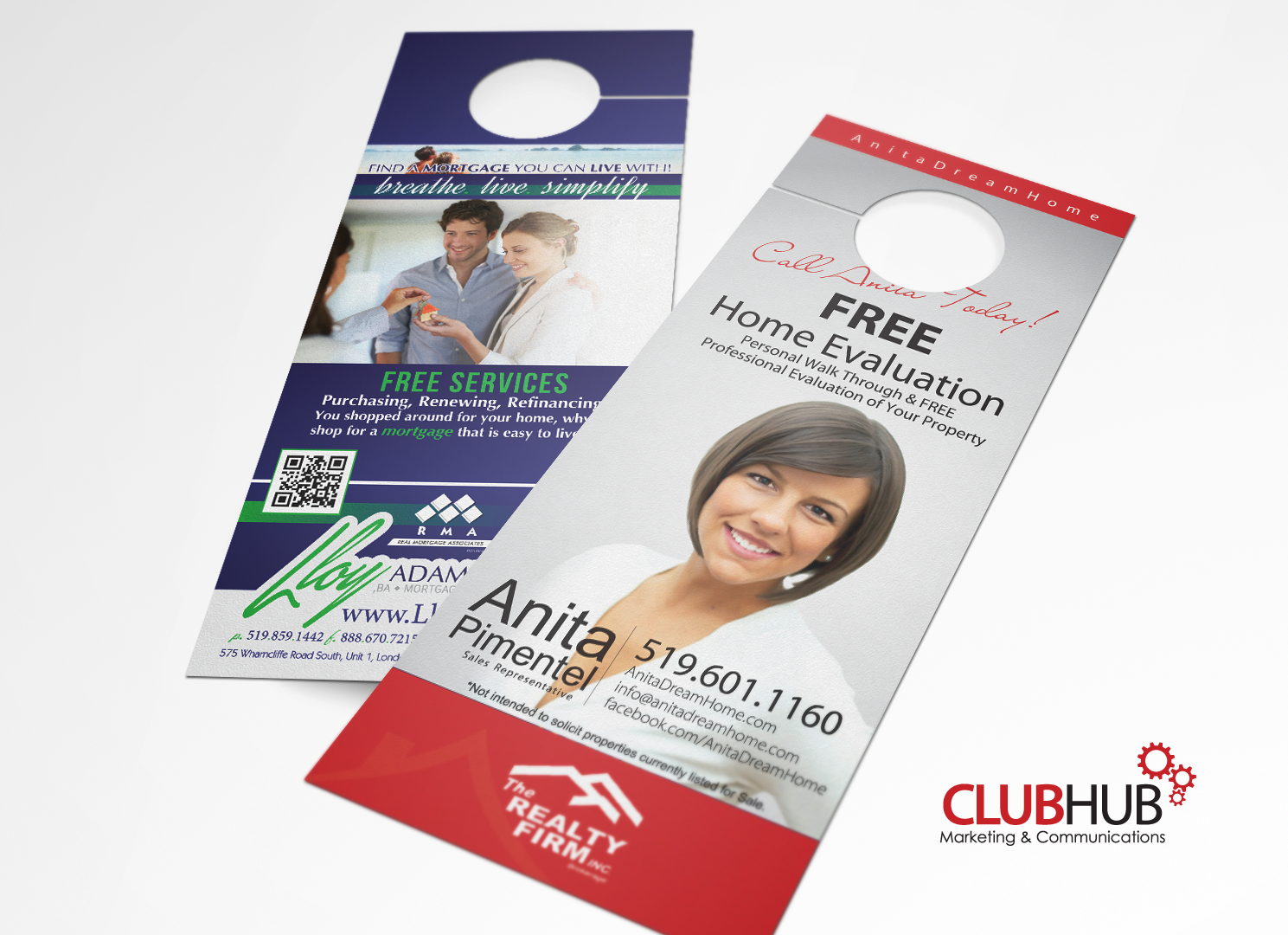 door hanger design real estate. Mortgage Agent \u0026 Real Estate Door Hanger Design