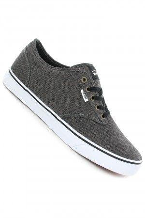 4afc77e8f085 Vans Atwood Shoe (chambray black white)  skatedeluxe  sk8dlx  vans ...