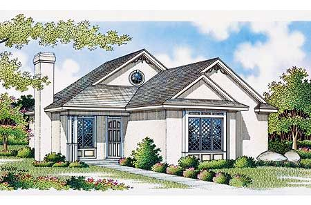 Plan 5509br Luxury In Miniature House Plans Craftsman Style House Plans Bungalow House Plans
