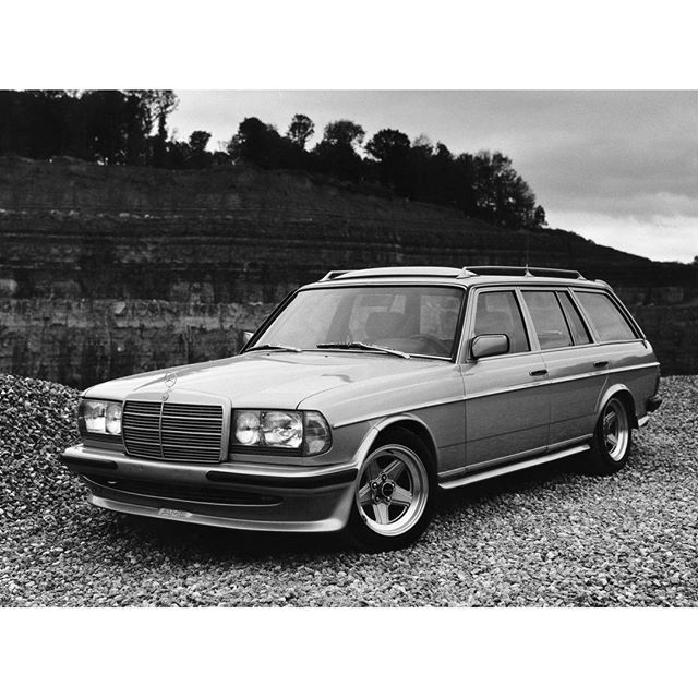 Gotta Get Off That S My Station The Mercedes Benz 280 Te Amg W123