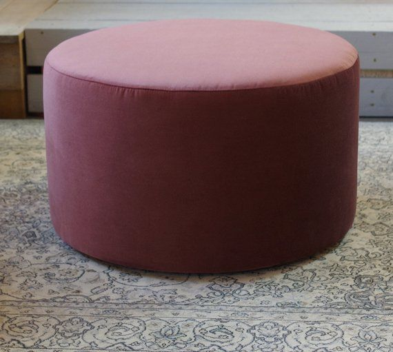 Admirable Set Of Two Big Round Pouf And Wooden Oak Tray Velvet Spiritservingveterans Wood Chair Design Ideas Spiritservingveteransorg