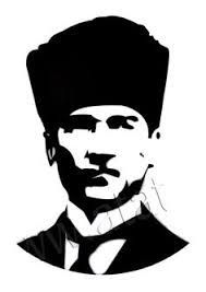 Ataturk Siluet Ile Ilgili Gorsel Sonucu Optik Illuzyon Sanati Poertre Resimleri Resim