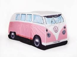 MONSTER PINK VW CAMPER VAN POP UP TENT
