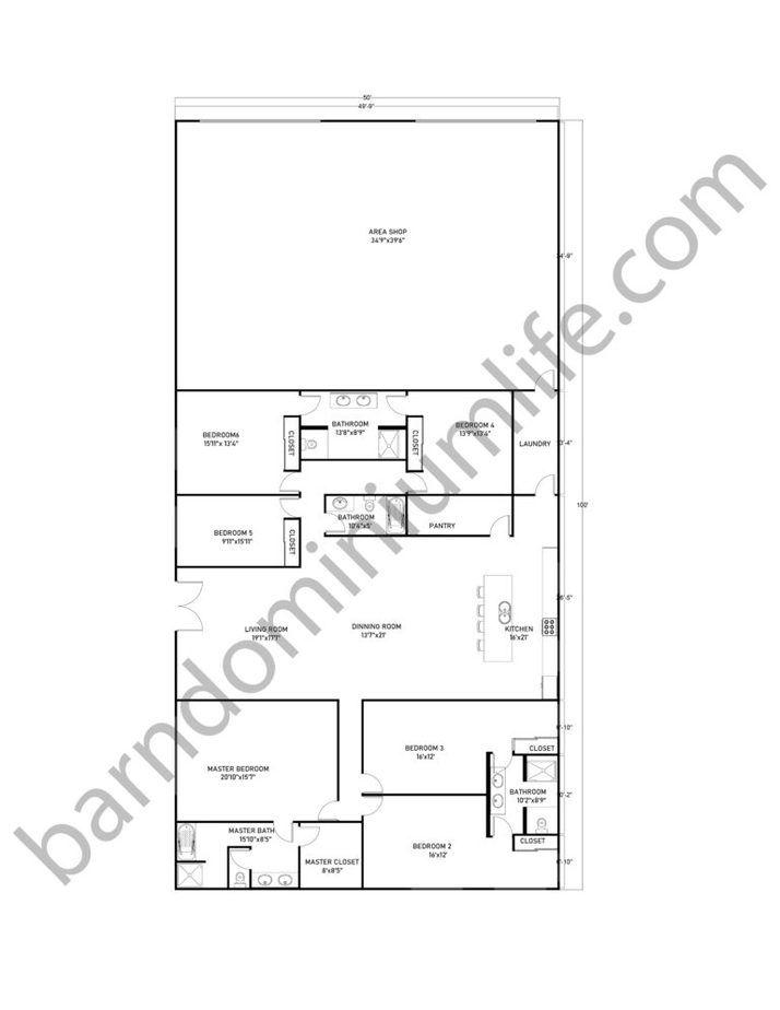40x60 Tennessee Barndominium Deciding Your Best Paint Colors