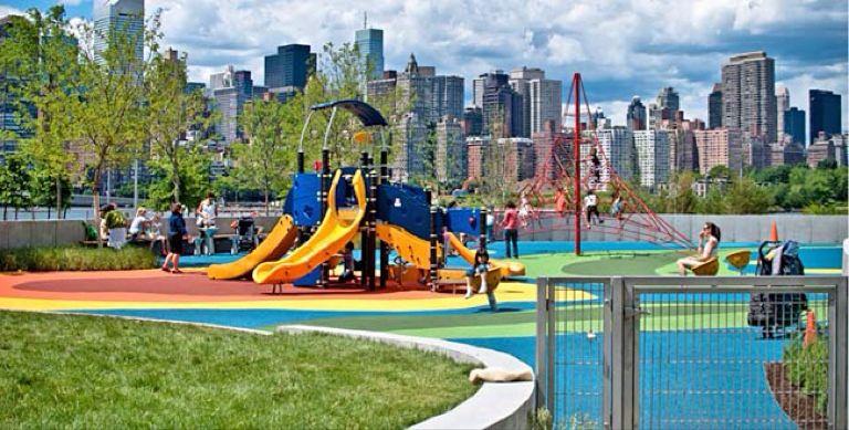 Gantry Plaza Playground New York City Ny Yuggler