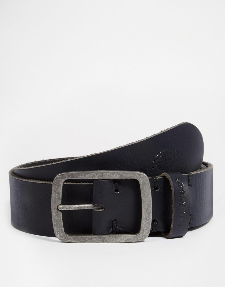 Get a makeover with this Dickies Eagle Lake Leather Belt - Black - http   065a0d1c8ab