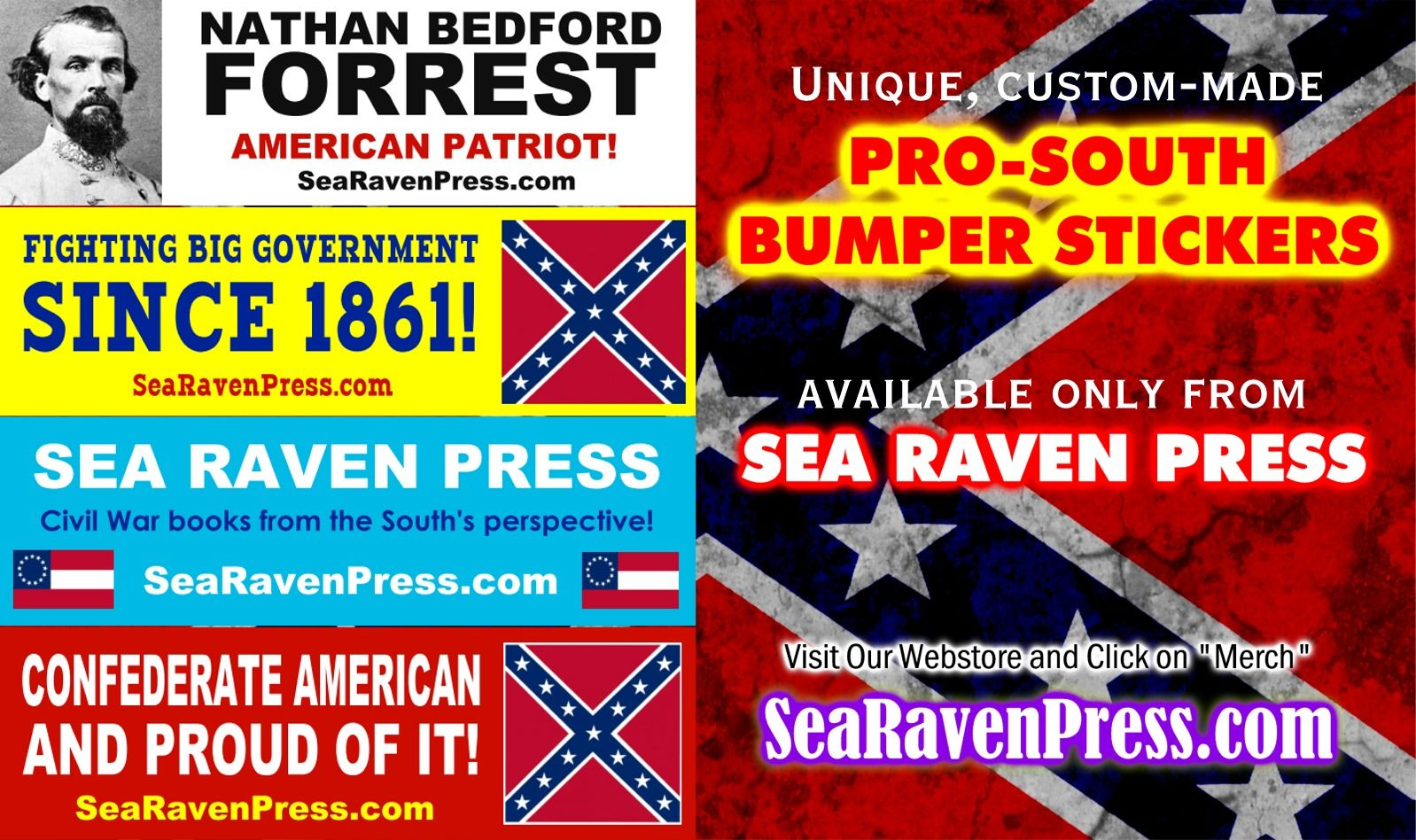 Looking for killer pro south bumper stickers check out our new bumper sticker webpage