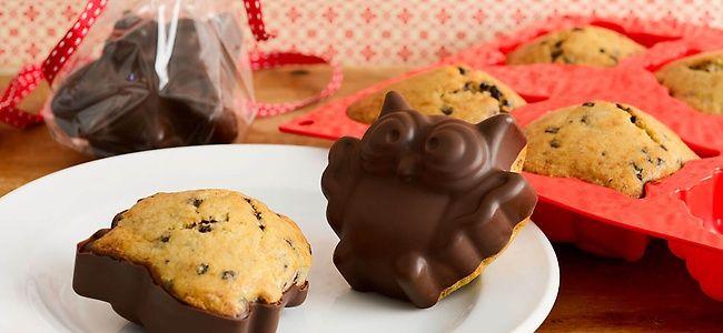 XXX - Eulen-Muffins mit Bananen und Schokolade | dm.de