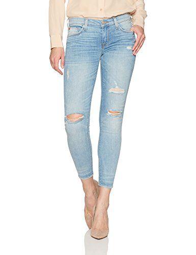 Hudson Jeans Womens Krista Ankle Super Skinny 5 Pocket Jean