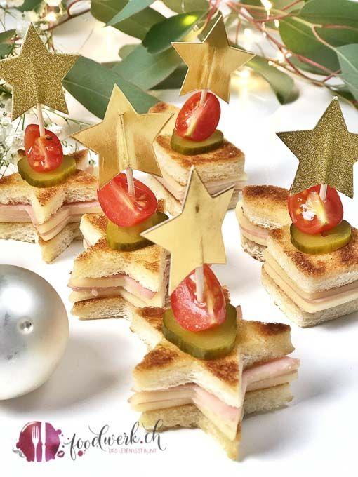 Weihnachtliche Aperosnacks für die ganze Familie