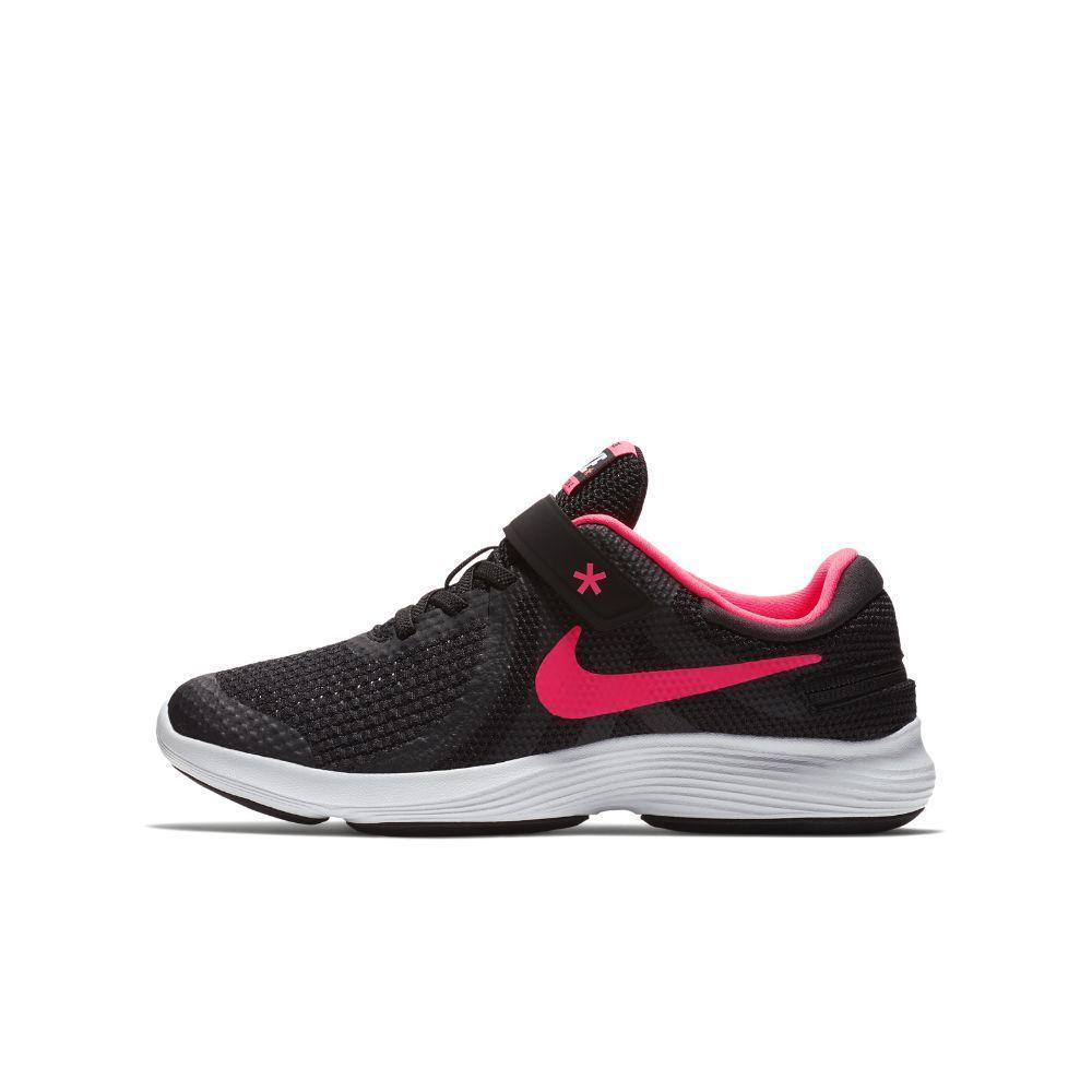 f574f82483d55 Nike Revolution 4 FlyEase Big Kids  Running Shoe Size 3.5Y (Black ...