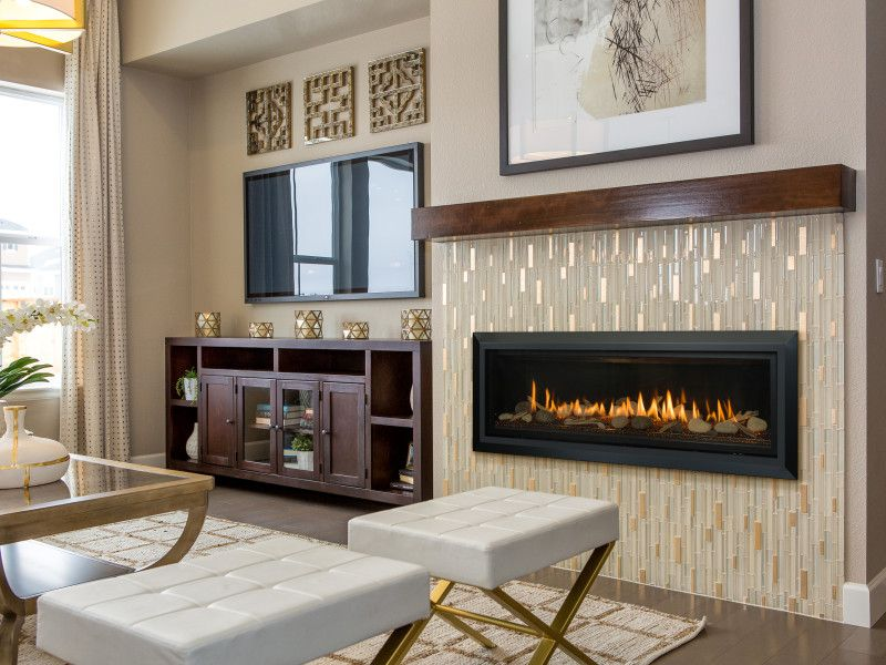 Slayton 60 Direct Vent Gas Fireplace | Contemporary Gas Fireplaces