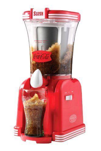 Coke Frozen Drink Maker Slush Slushie Machine Ice Slurpee Shaver Beverage Mixer Slush Machine Drinks Machine Slush Maker