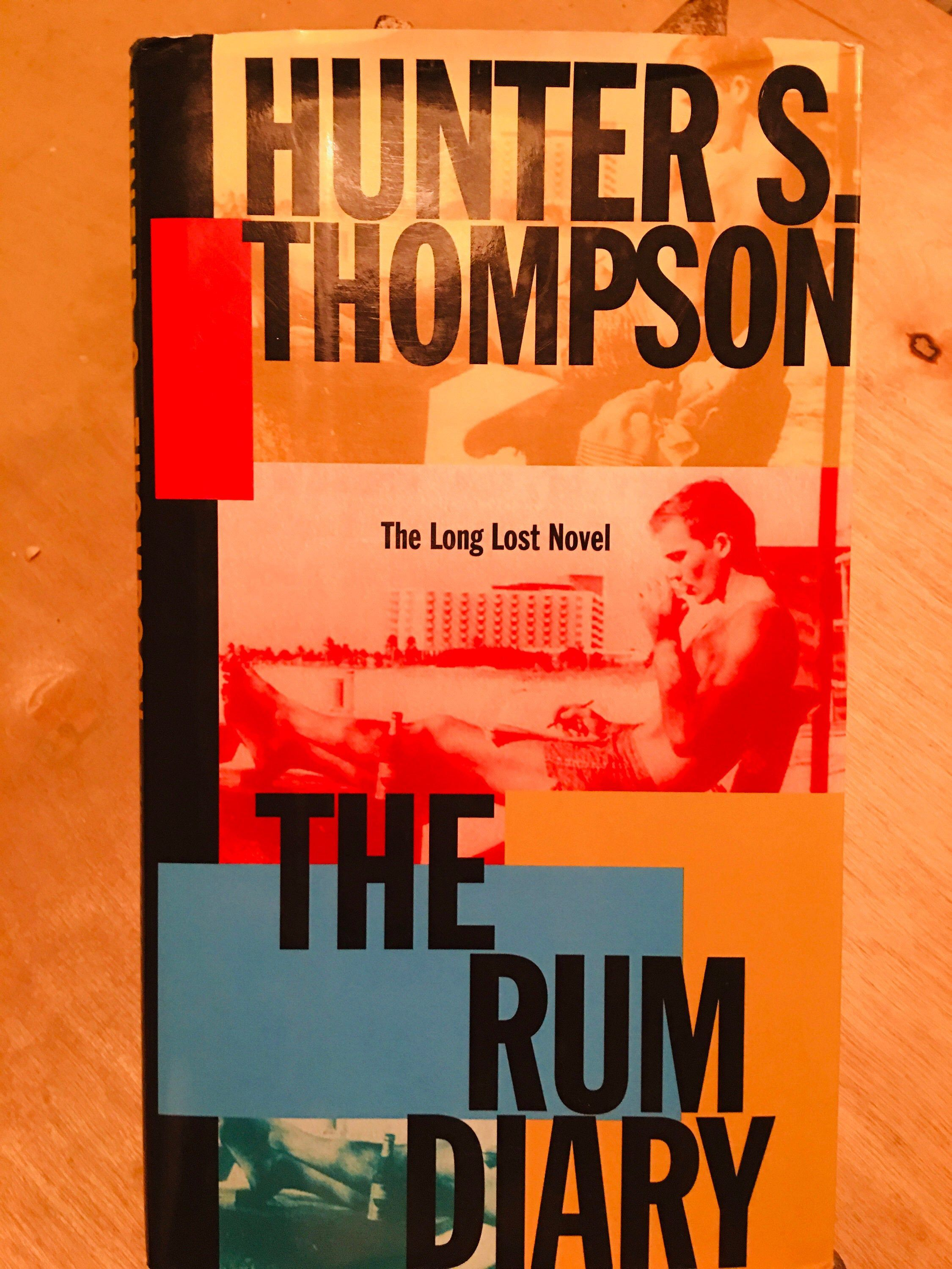 Hunter s thompson the rum diary 1st edition white
