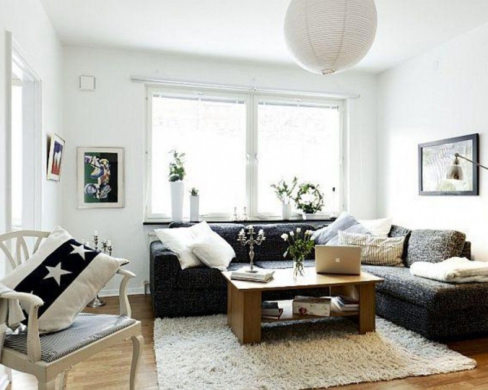 Living Room:Charming Small Living Room Design With Corner ...