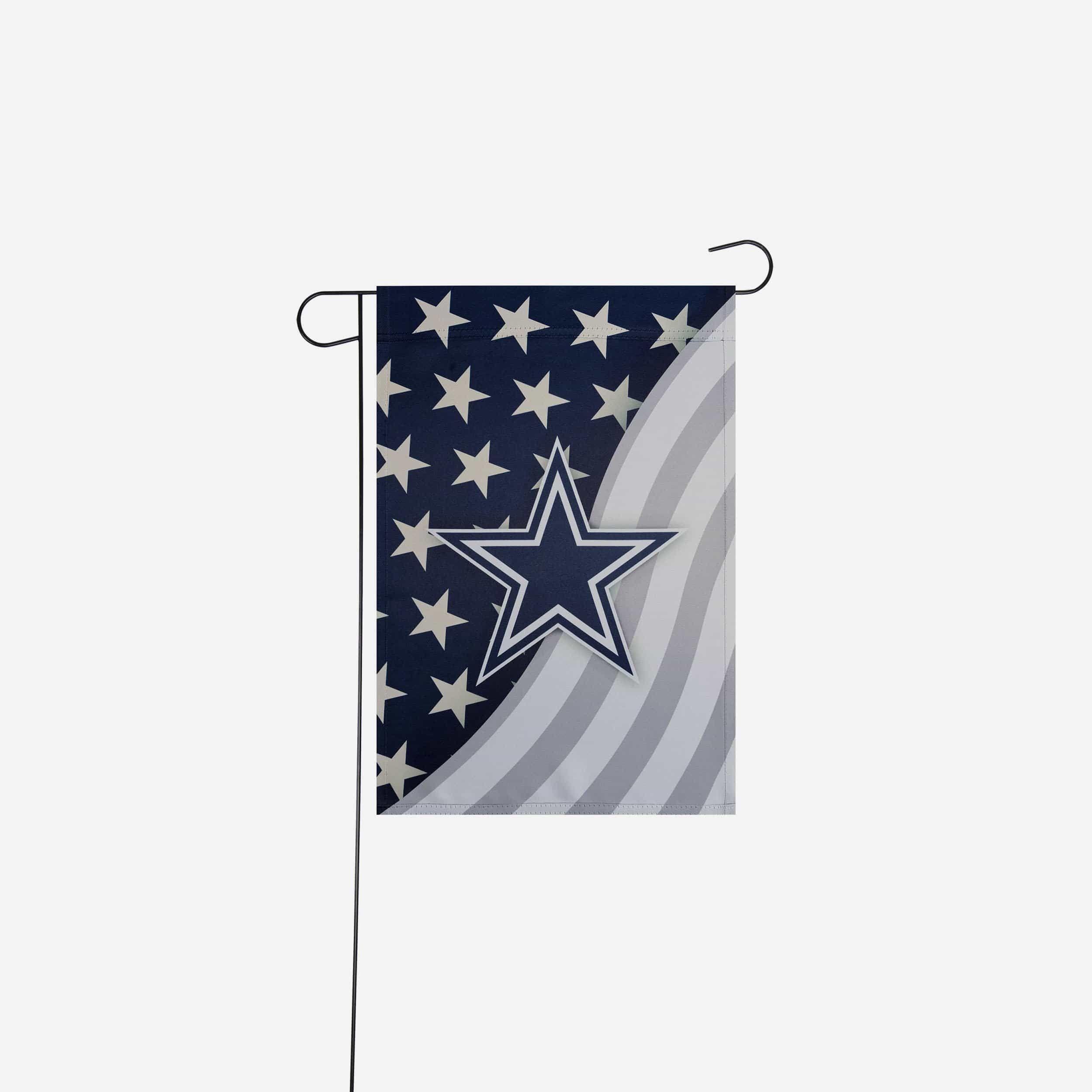Dallas Cowboys Americana Garden Flag in 2020 Fireworks