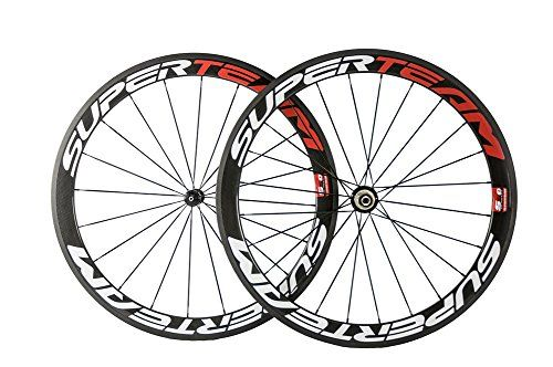 Superteam Carbon Wheel 50mm Decal Wheelset Chinese Carbon Wheels