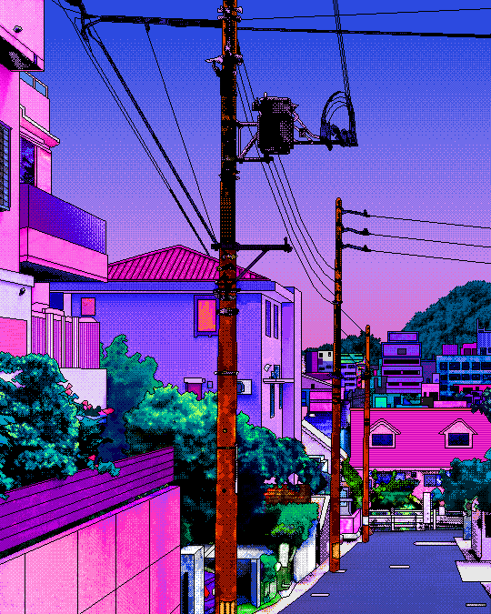 millennium dream Photo Vaporwave art, Vaporwave, Pixel art
