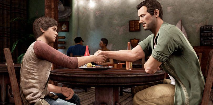 Nate And Sully Uncharted 3 Nathan Drake Little Nate Sully