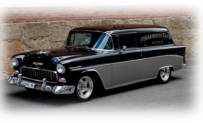 1955 Chevy Delivery Owned By Owe Hellberg From Sweden Chevy