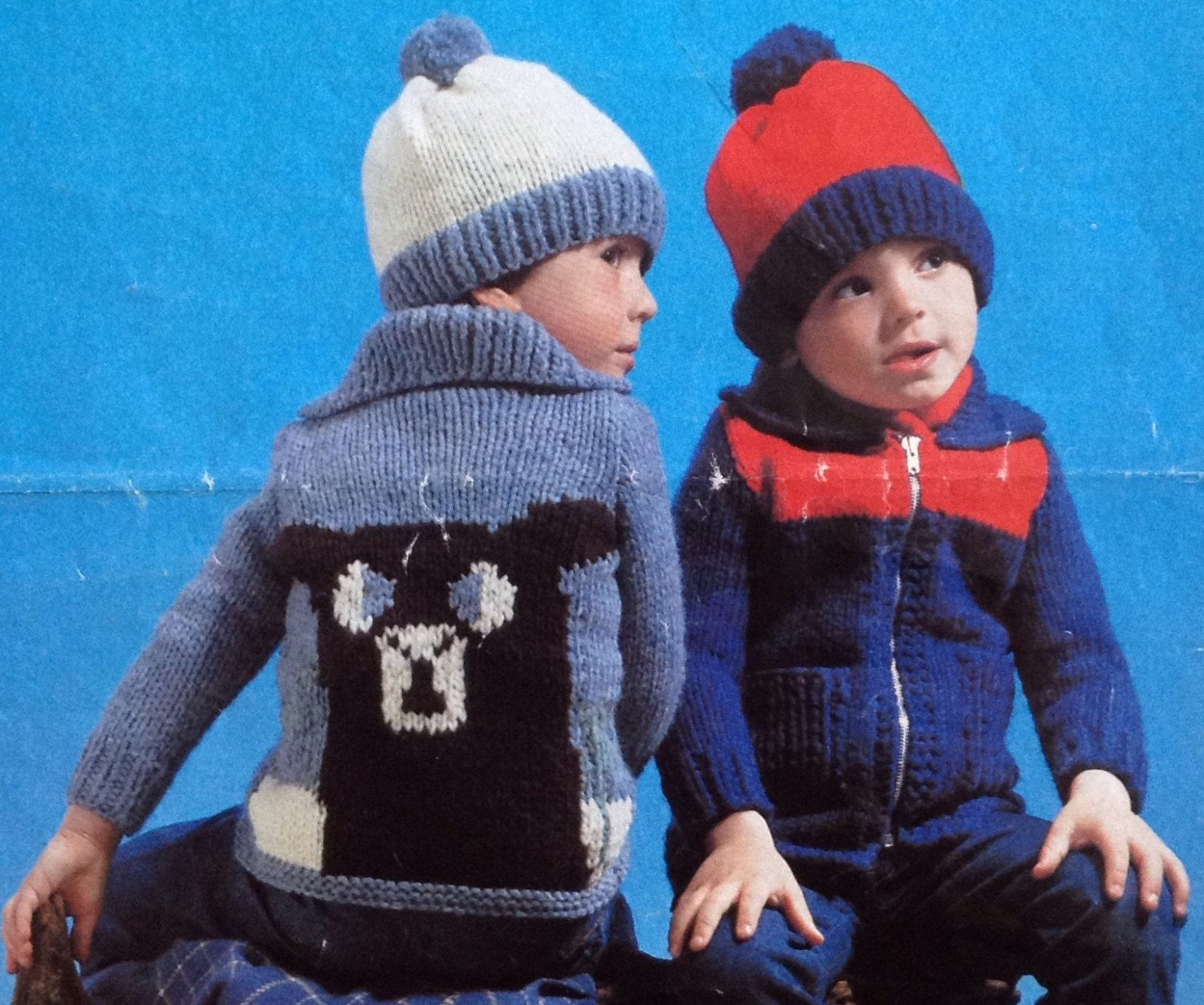 Childrens jacket chunky knitting pattern size 20 24 51 61cm by childrens jacket chunky knitting pattern size 20 24 51 61cm by makenshare on etsy bankloansurffo Choice Image