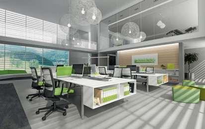 Idee Ufficio Open Space : Idee per arredare un ufficio open space magazines