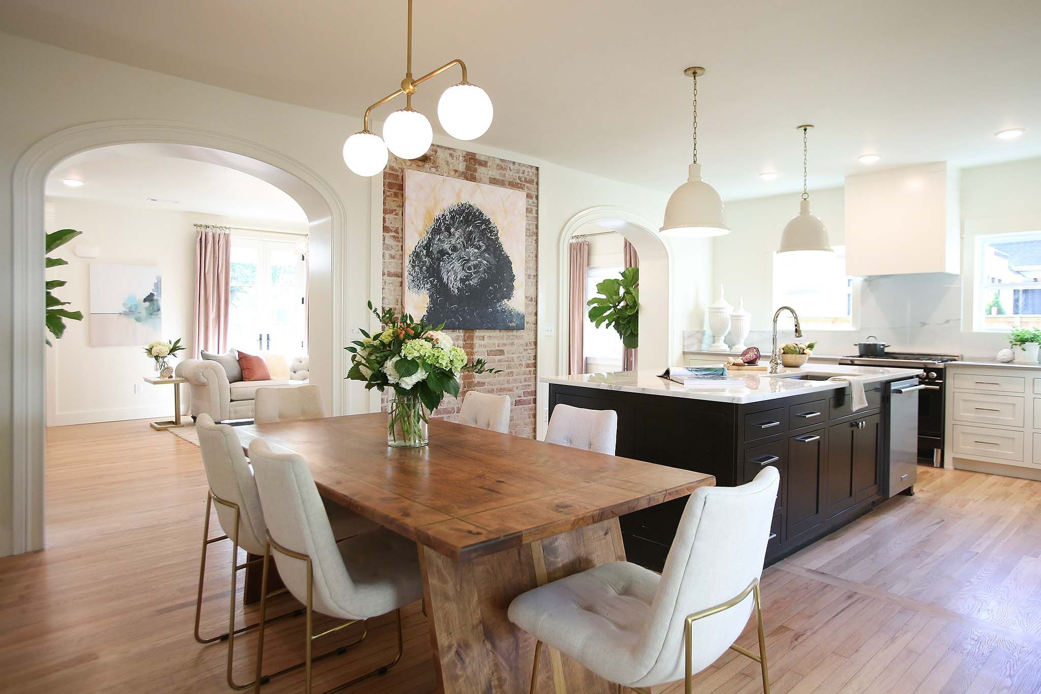 Craftsman to Creole Cottage   Cottage kitchen renovation ... on French Creole Decorating Ideas  id=48206