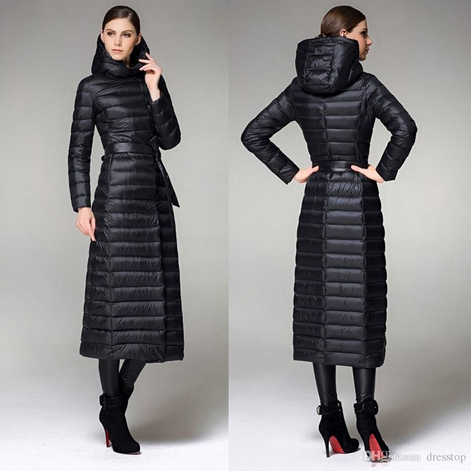 slim-fit-women-long-down-coat | Down Coat | Pinterest | Coats ...