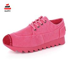 Chaussure Femme 2016 Spring New Arrival Girl's Lovely Candy Color Comfortable Sport Canvas Shoes Woman High Quality…