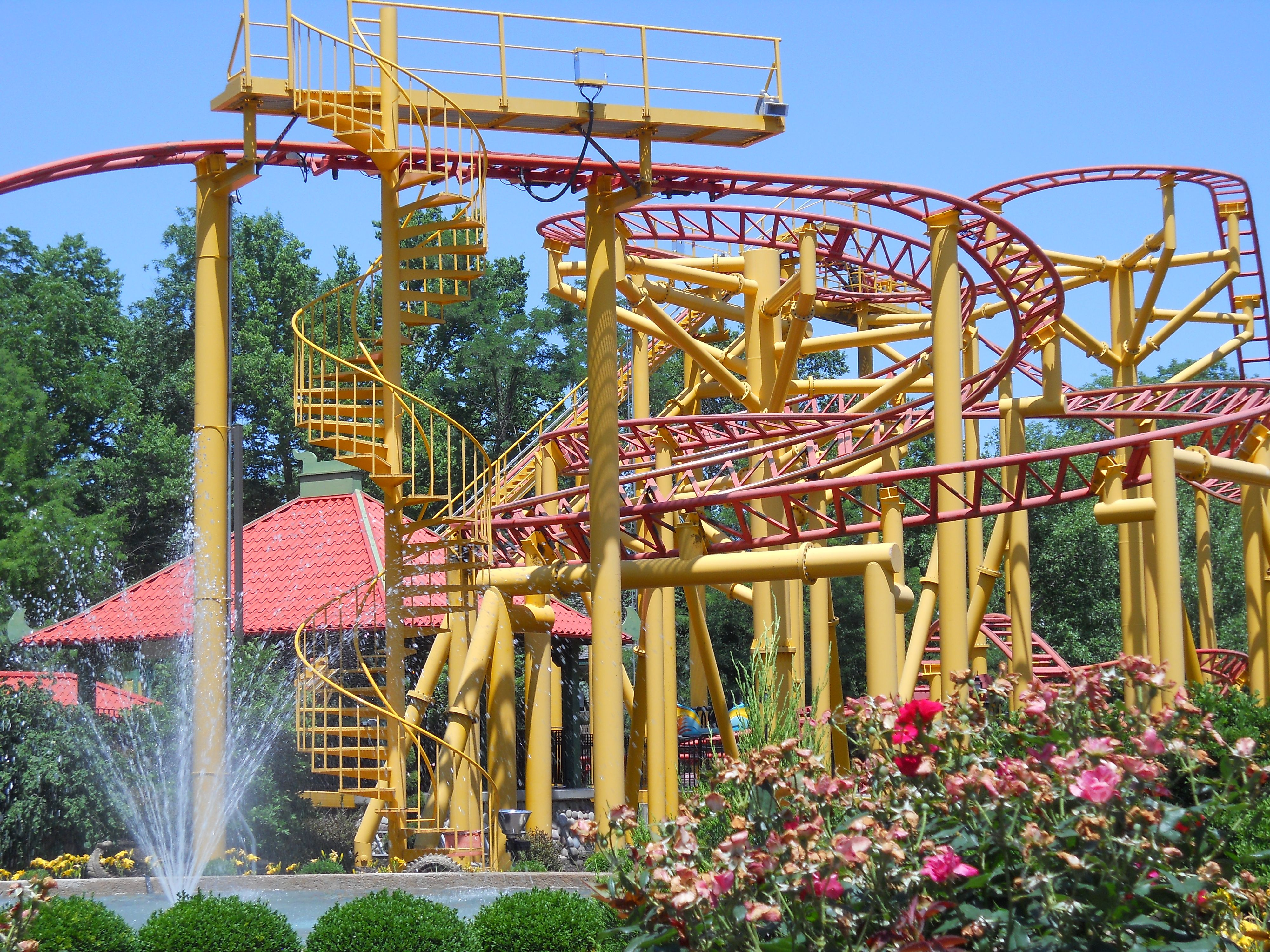 Pin By Judson Workman On Rollercoasters Check Worlds Of Fun Ocean Fun Kansas City