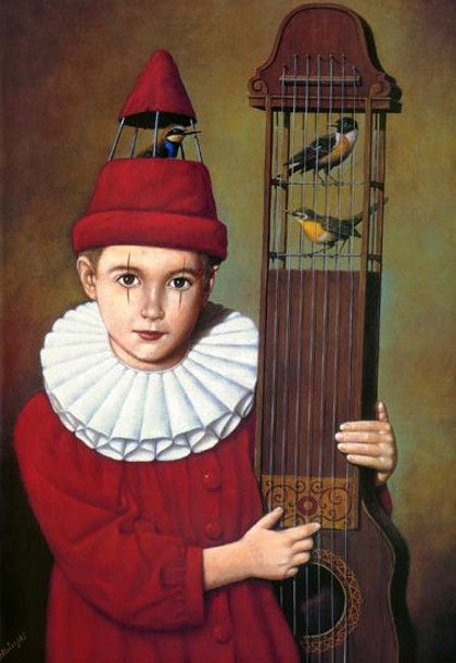 Exhibition-Rafal Olbinski (1945, Polish)