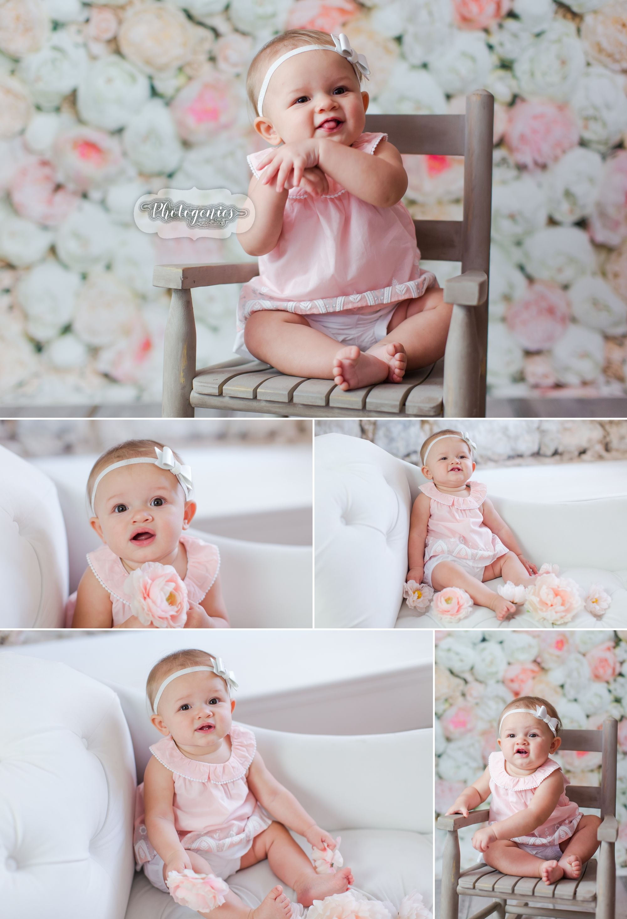 Baby Girl Photoshoot Ideas : photoshoot, ideas, Ava's, Sitting-Up-Session, Girly, Six-Month, Photo, Shoot, Photoshoot, Girl,, Photoshoot,, Pictures