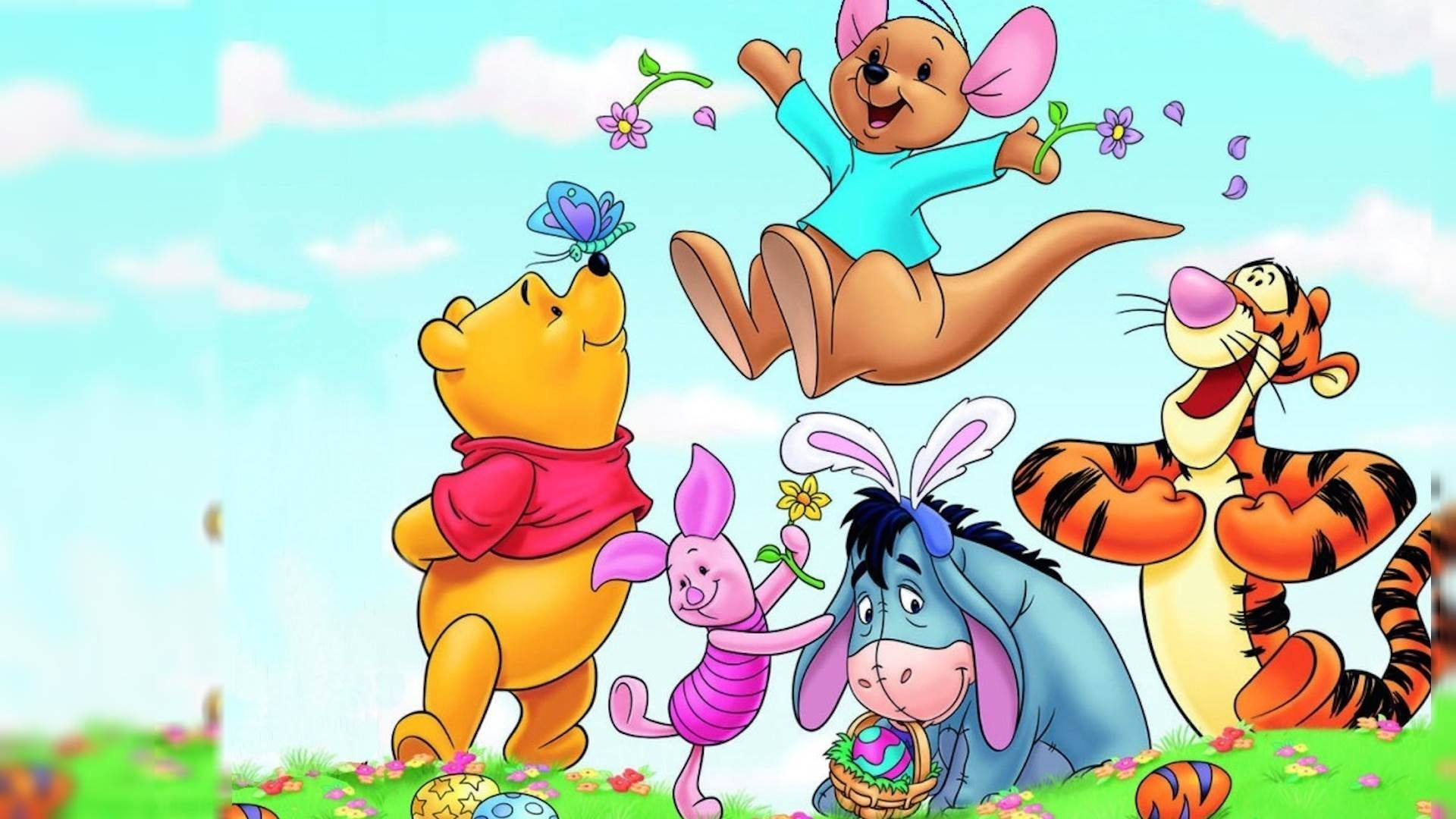 High Resolution Disney Cartoon Winnie The Pooh Wallpaper