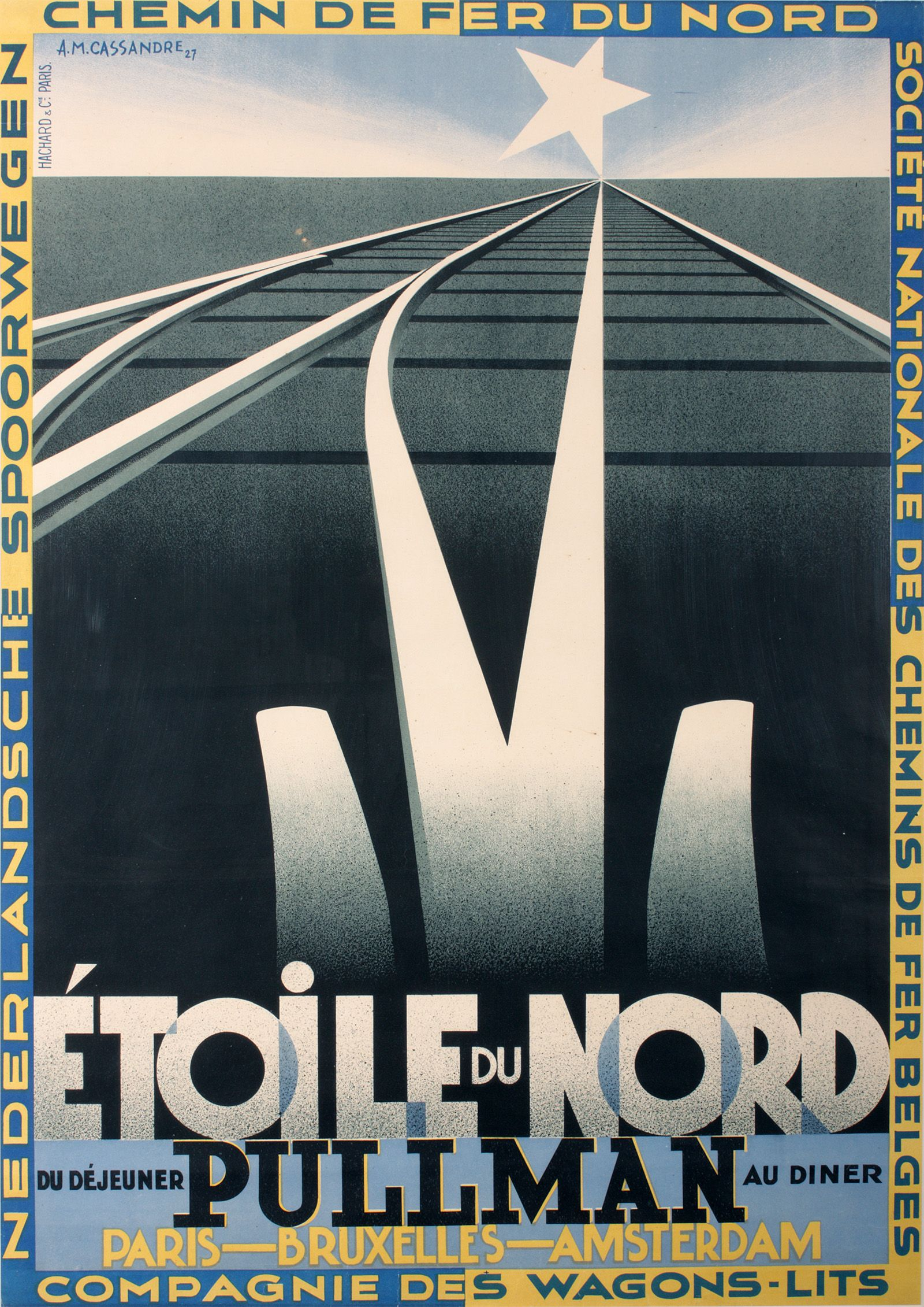 Image result for Etoile du Nord history+french travel poster