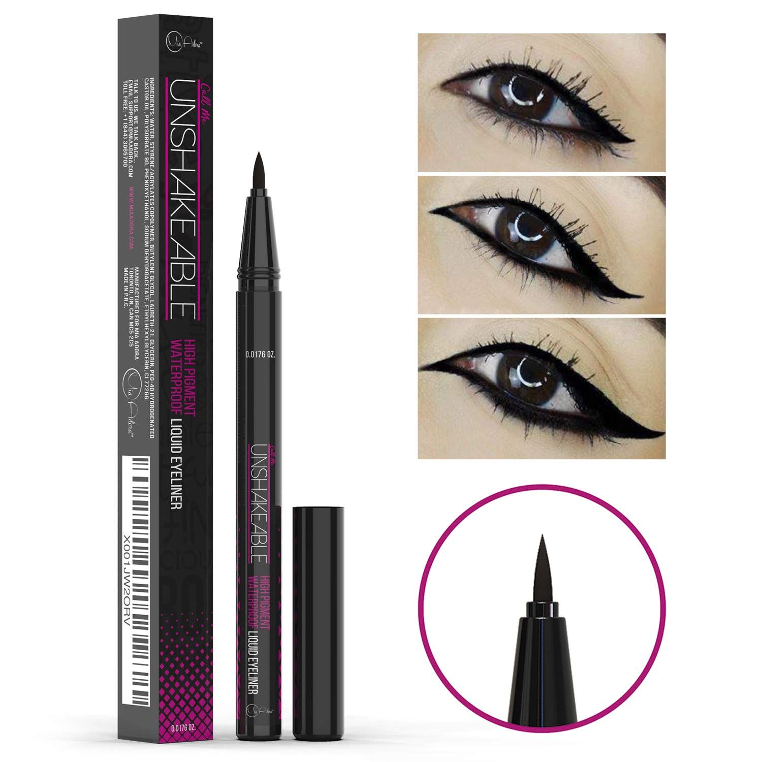 Eyeliner Best Cruelty Free Waterproof Liquid Eye liner
