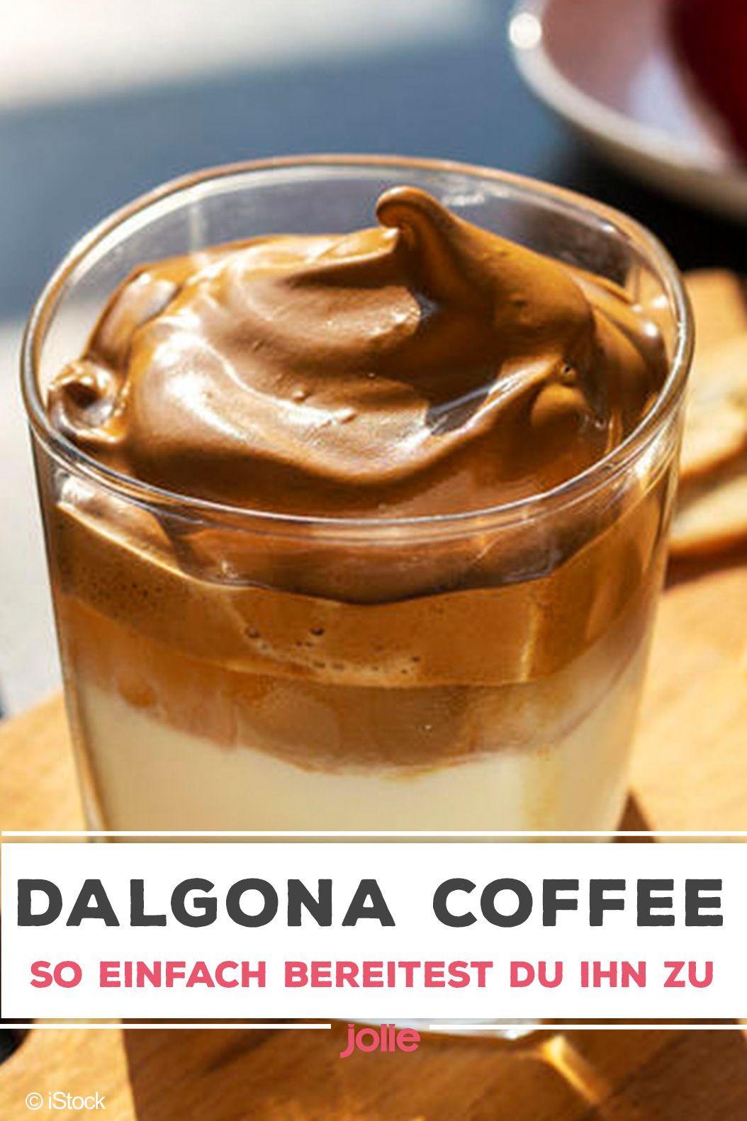 Dalgona Coffee So einfach bereitet ihr den TrendKaffee